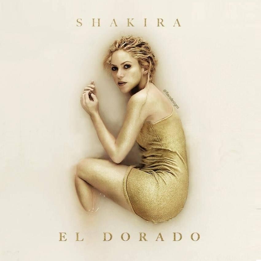 """Shakira, disco """"El Dorado"""""""