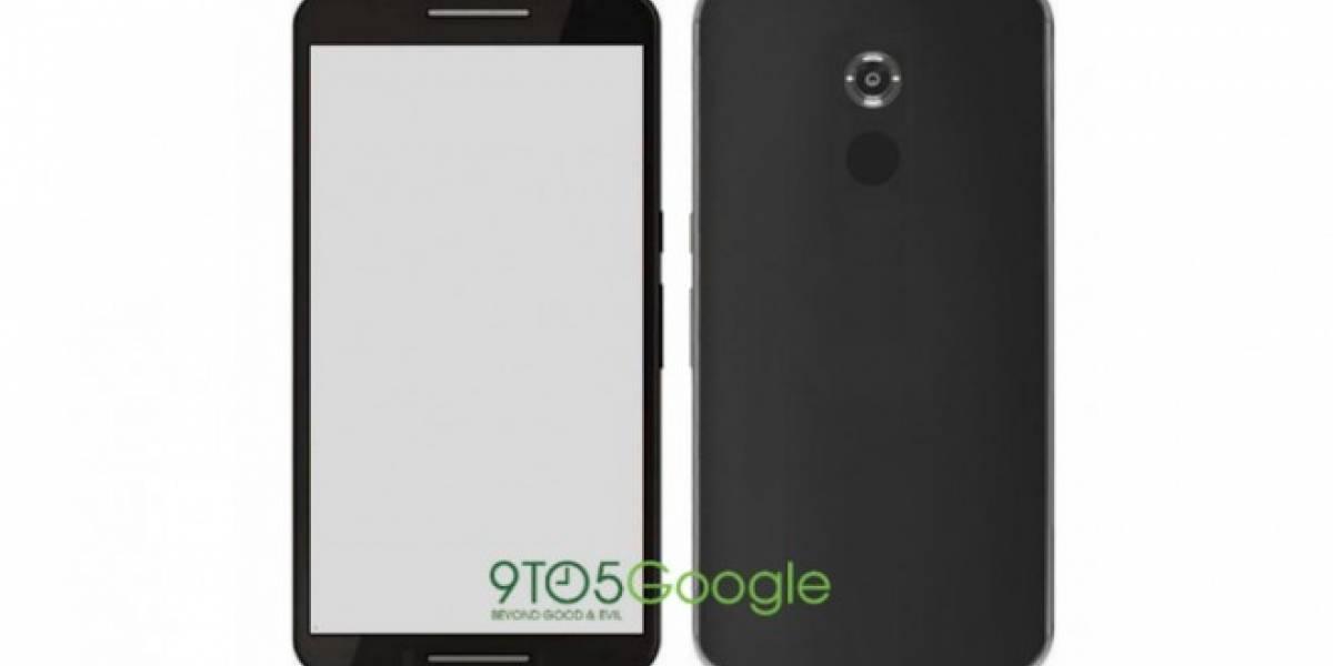 Aparece render del Nexus 6 basado en el dispositivo real