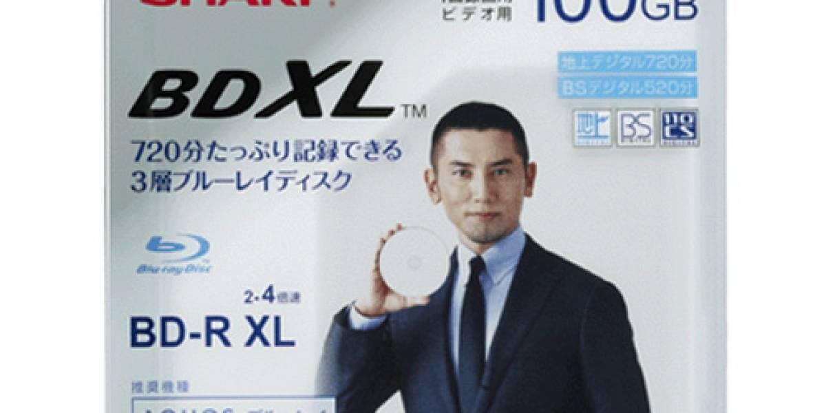 Sharp proveerá primeros discos Blu-ray BDXL de 100GB