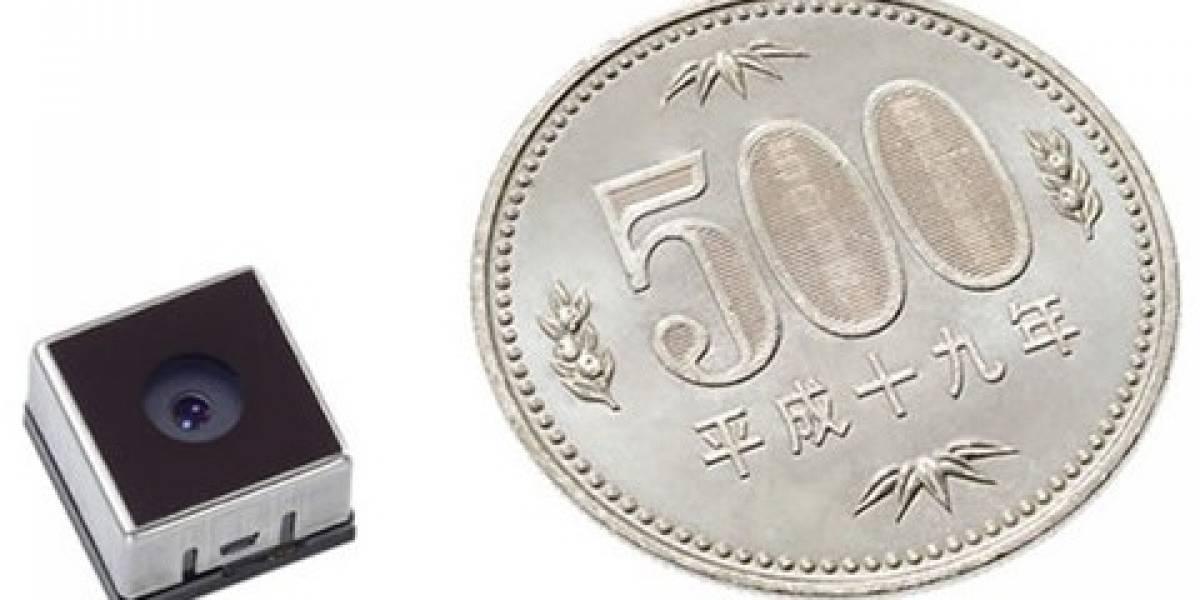 Sharp devela el sensor CMOS de 5 Megapixeles más pequeño del mundo