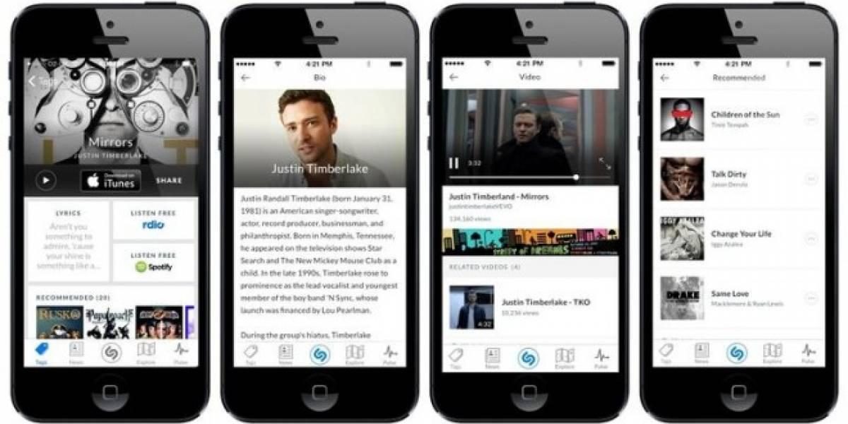 Shazam podría integrarse a iOS de Apple