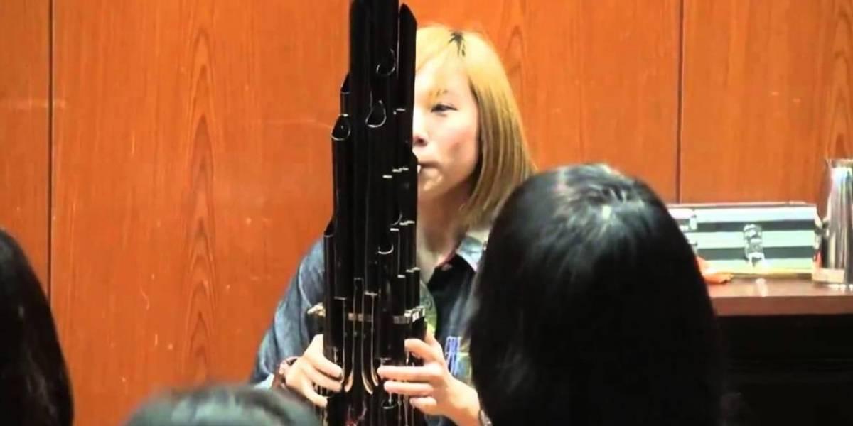 Escucha el tema de Super Mario Bros. tocado con este instrumento milenario
