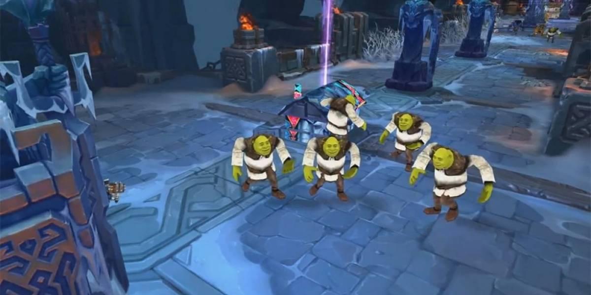 Juega como Shrek en League of Legends