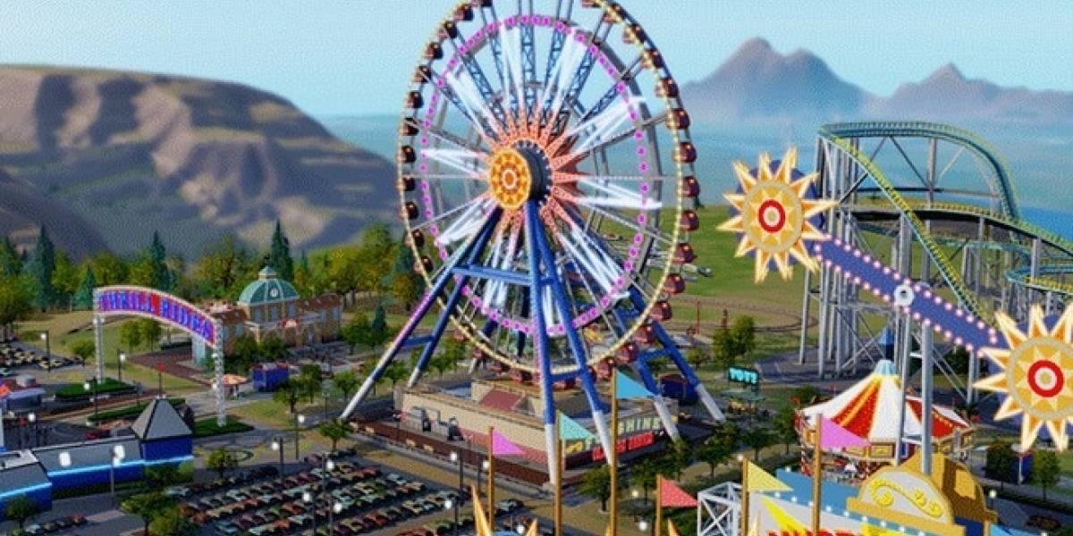 Maxis anuncia una mini expansión para SimCity: Parques de diversiones