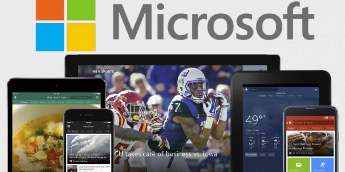 Sin darnos cuenta, Microsoft tiene ya 100 apps en Android y iOS