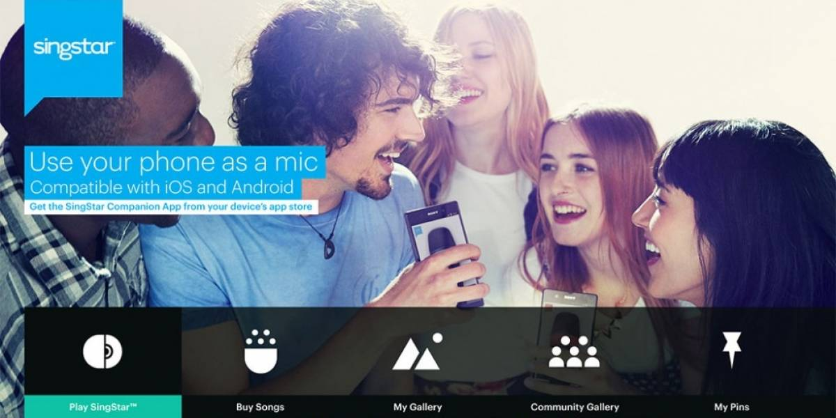 SingStar para PS4 permitirá usar tu teléfono móvil como micrófono