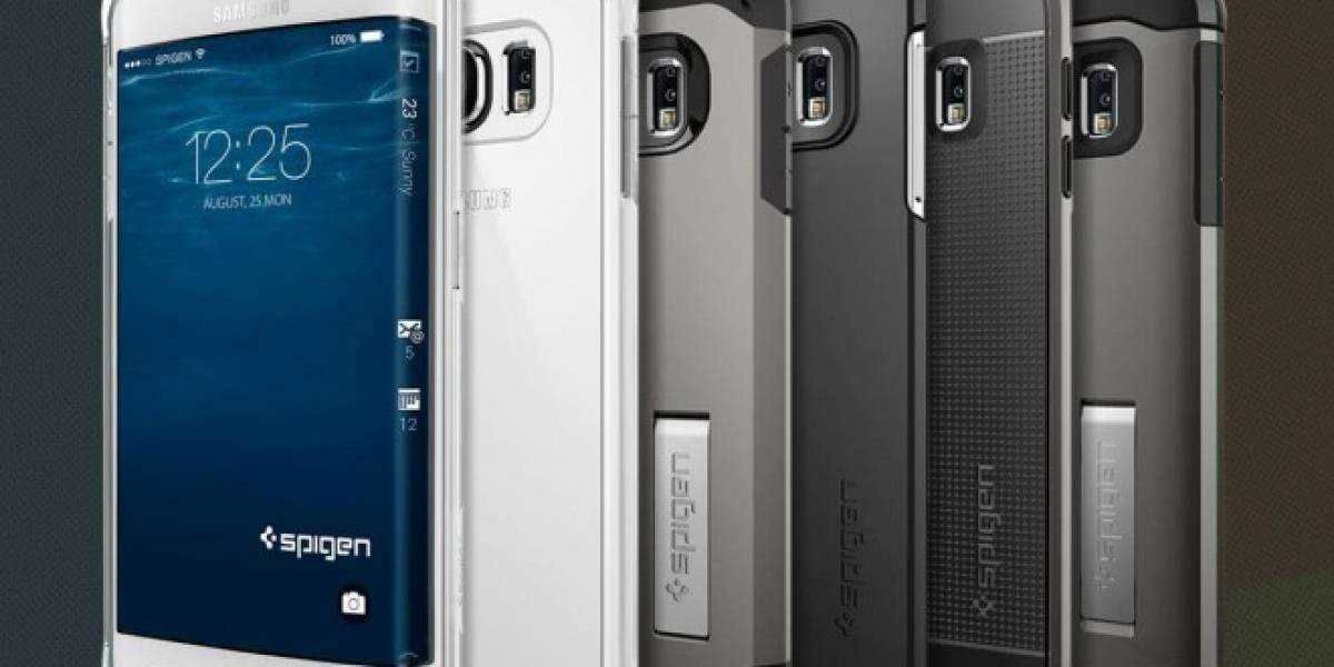 Aparecen cases para el Samsung Galaxy S6 Edge