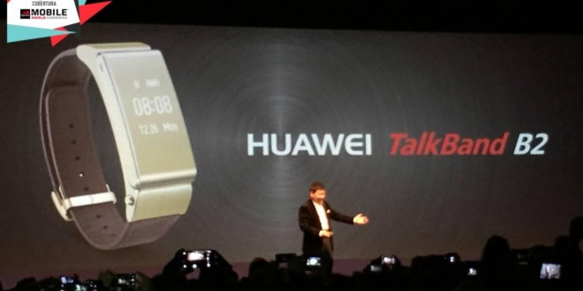 Huawei presenta a la nueva TalkBand B2 #MWC15