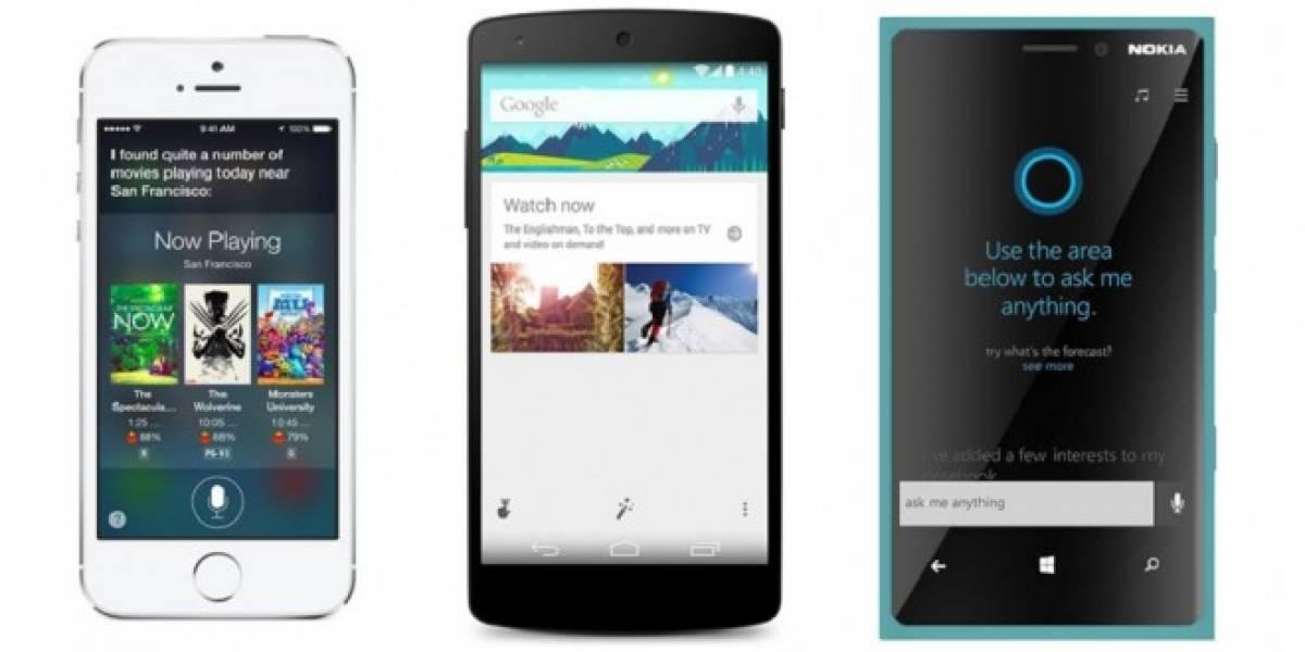 Google Now responde mejor a búsqueda por voz que Siri y Cortana