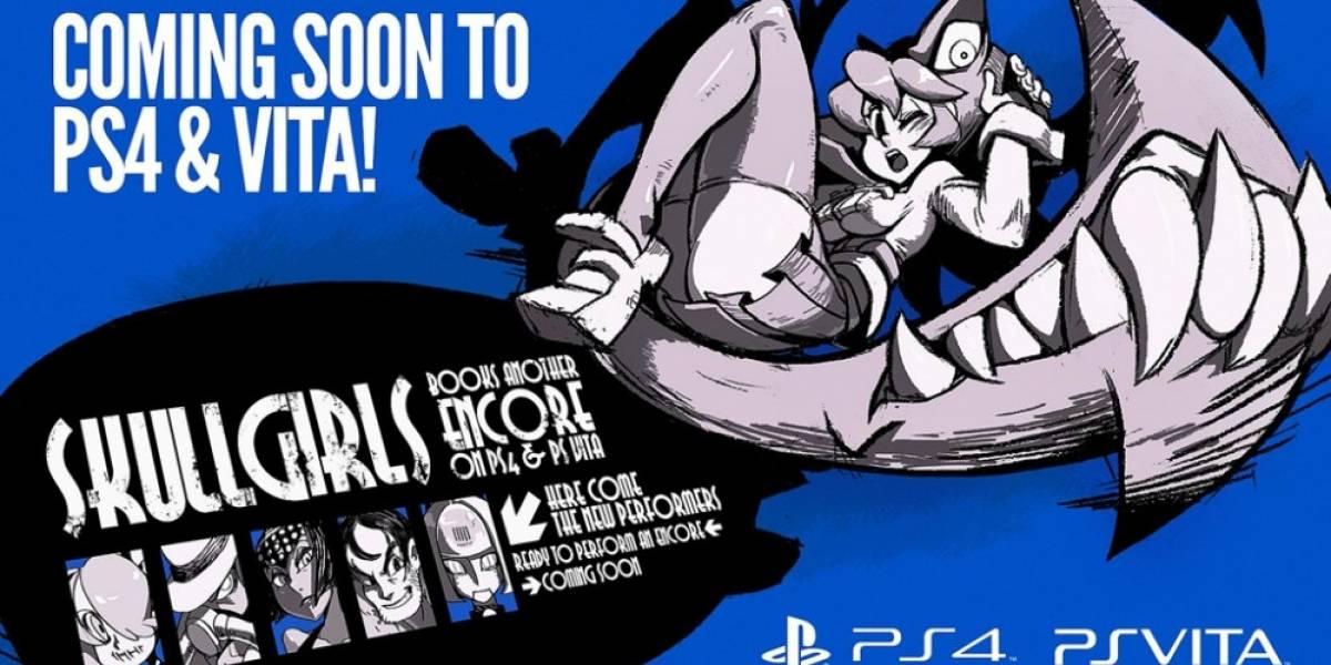 Skullgirls Encore llegará a PS4 y PS Vita