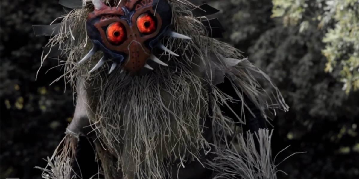 La trágica historia del Skull Kid en un fan film de TLoZ: Majora's Mask