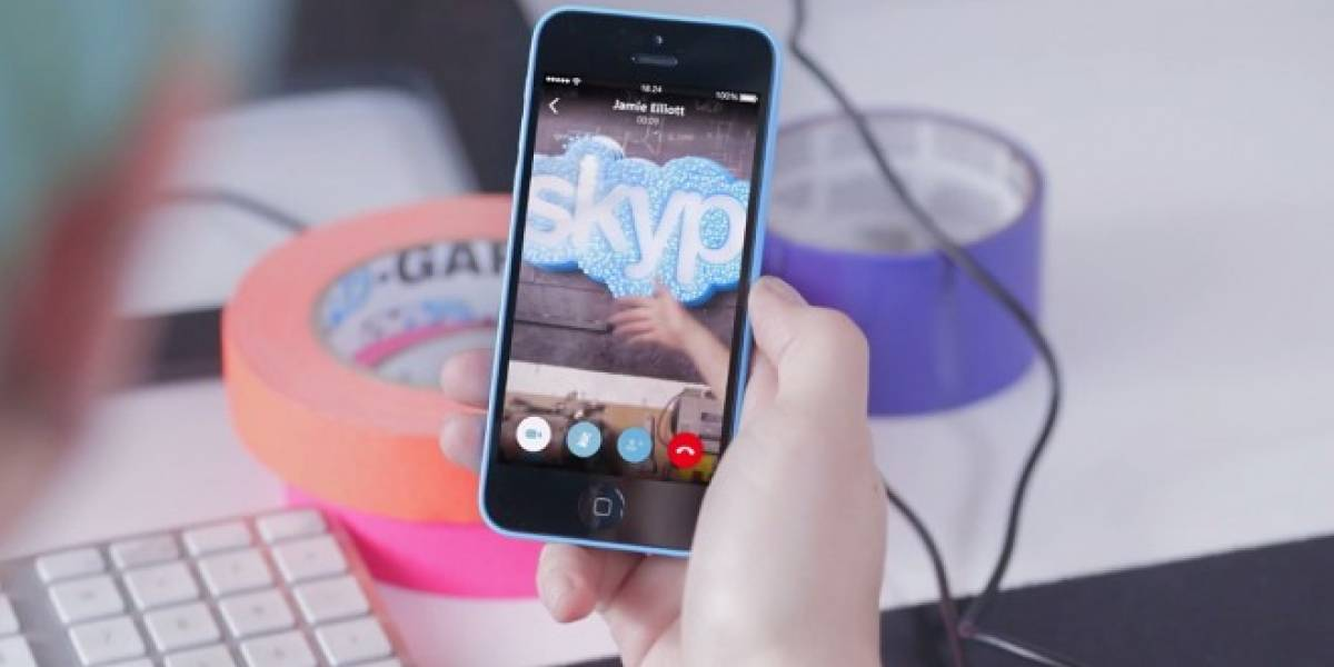 Skype para iOS 8 mejora sus notificaciones