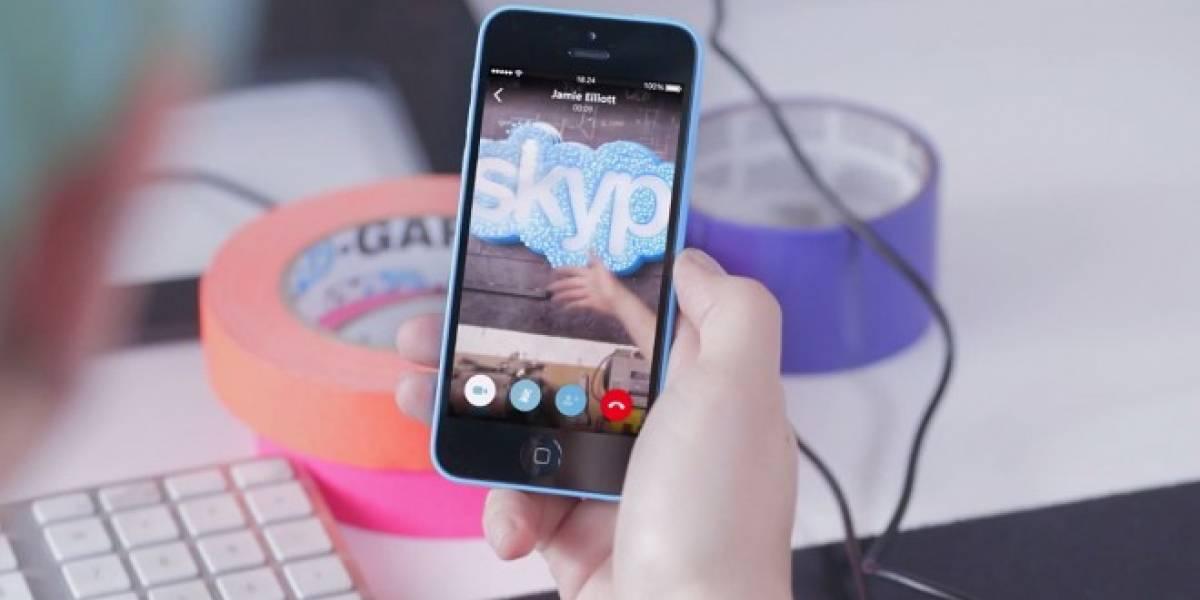 Skype para iOS empieza a ser usable en su versión 5.0
