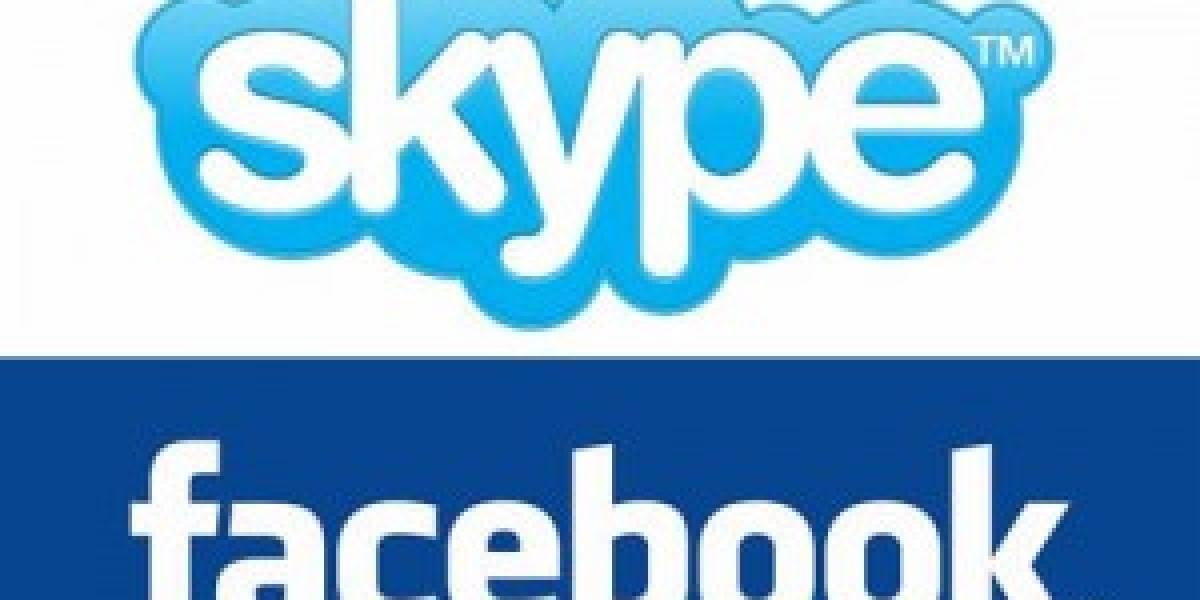 Futurología: Facebook y Skype integrarán sus servicios