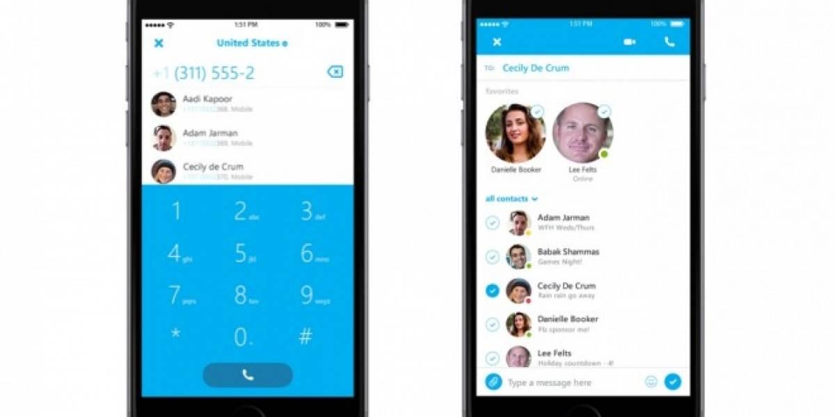 Skype para iOS se actualiza y abre programa de versiones preliminares