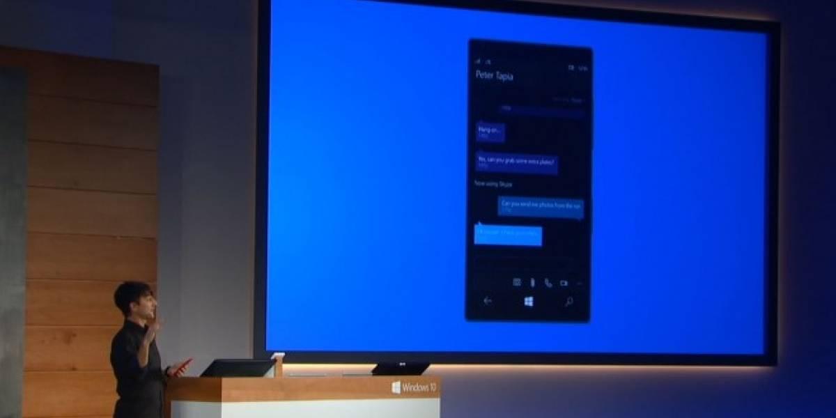 Windows 10 fusionará Skype y SMS en una sola aplicación de mensajería