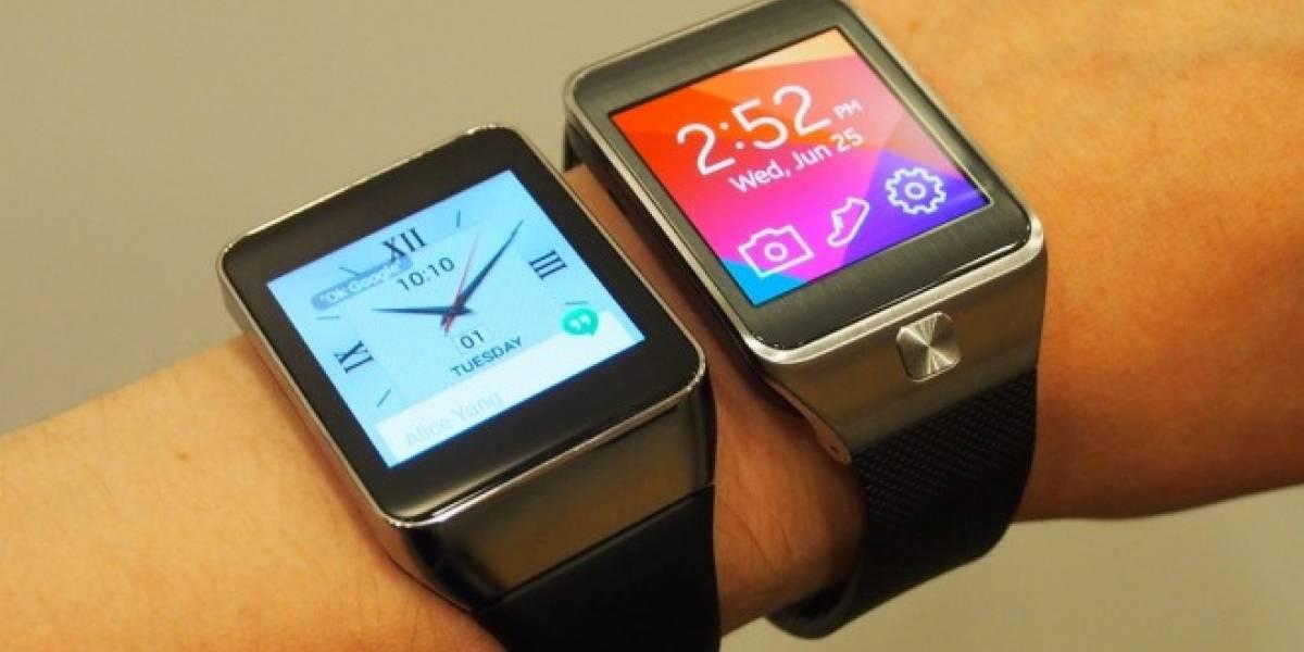 ¿Cuál es mejor? ¿El LG G Watch o el Samsung Gear Live?