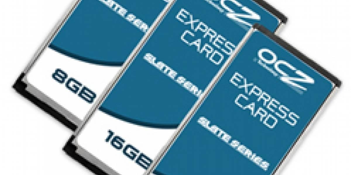 OCZ introduce Slate Series ExpressCards para notebooks