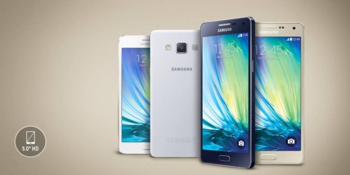 Samsung Chile anuncia la llegada del Galaxy A3 y A5 para marzo