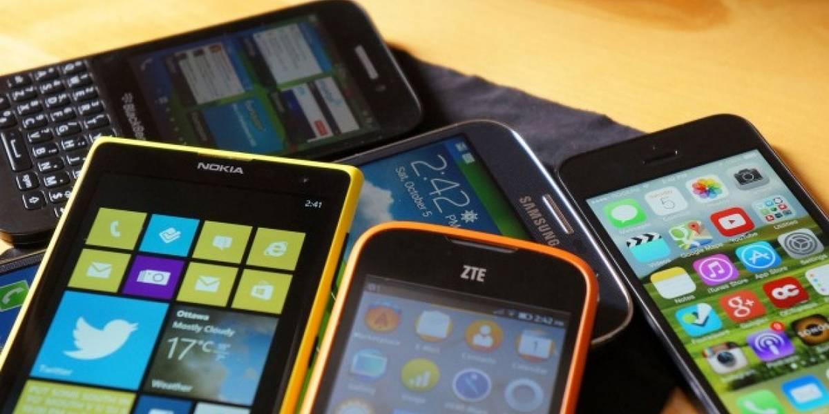 América Latina registró un alza en la venta de smartphones durante 2014