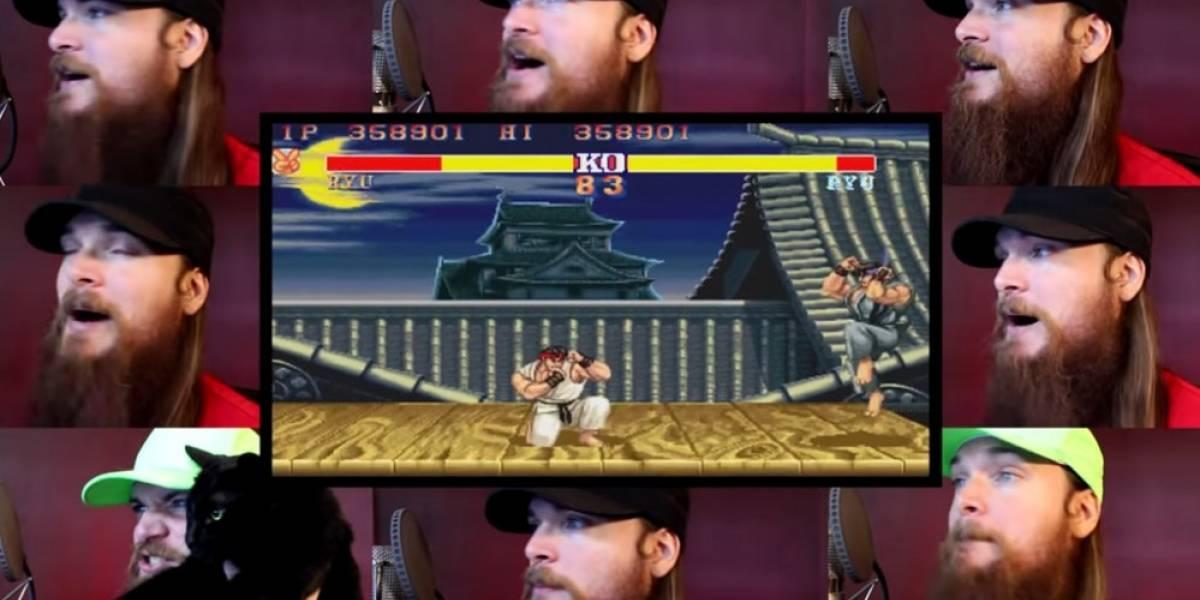Smooth McGroove canta el tema de Ryu de Street Fighter II