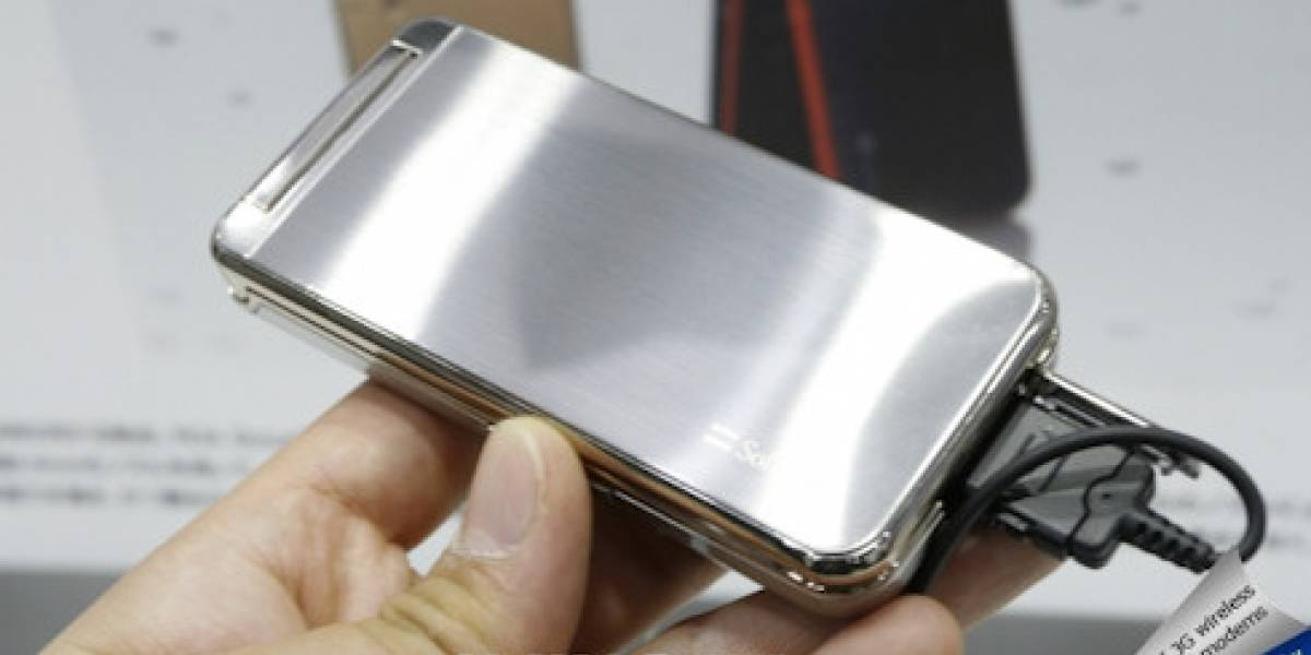 Sharp-Softbank 824SH: El móvil 3G a prueba de agua más delgado del mundo
