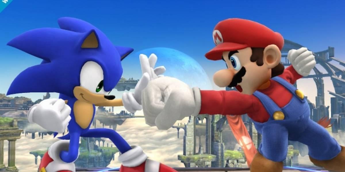 Sonic se suma al elenco del nuevo Super Smash Bros.