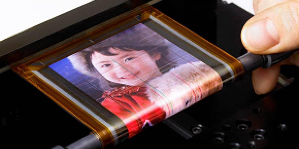 Sony presenta pantalla OLED ultradelgada enrollable