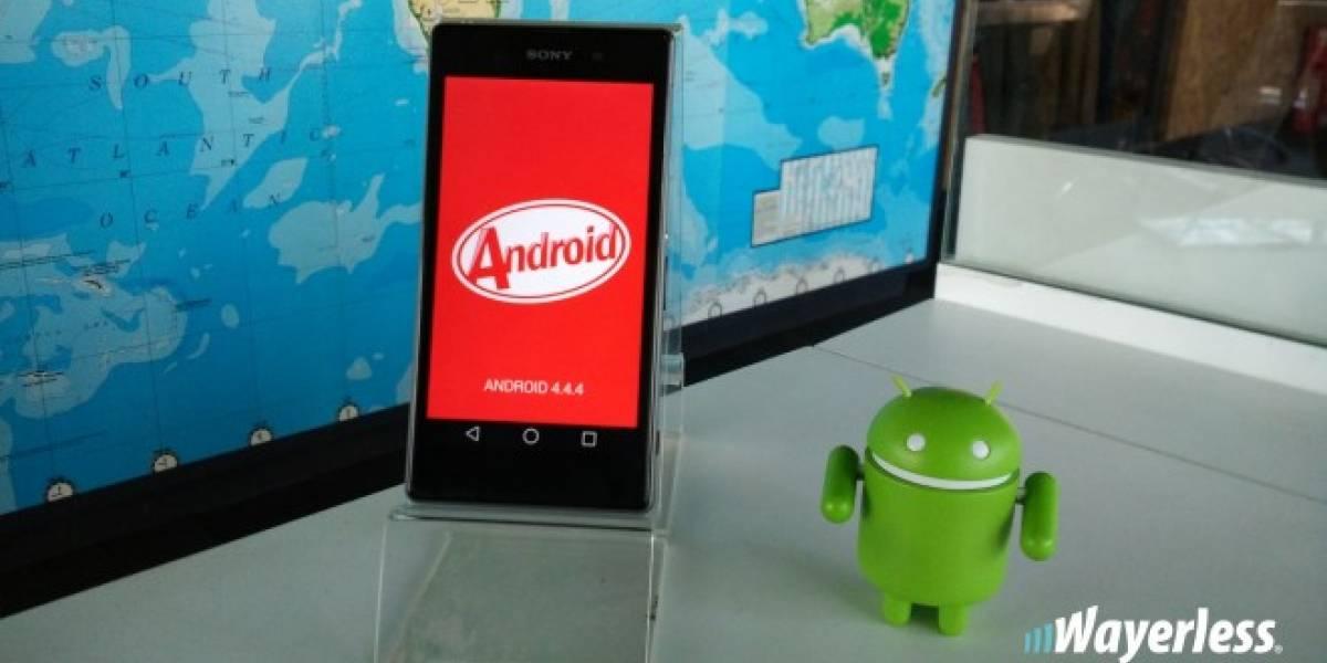 Android KitKat es la versión más usada de Android