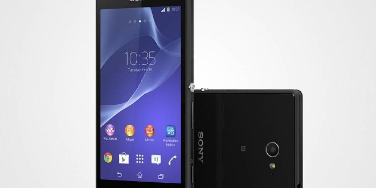 Sony Xperia M2 es un gama media con 4G #MWC14