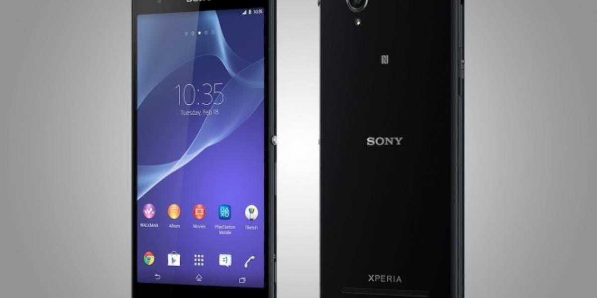 Sony Xperia T2 Ultra llega a Movistar Chile