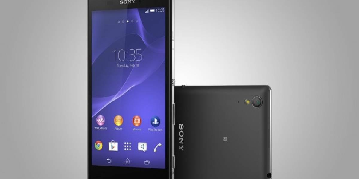 Sony presenta el nuevo Xperia T3