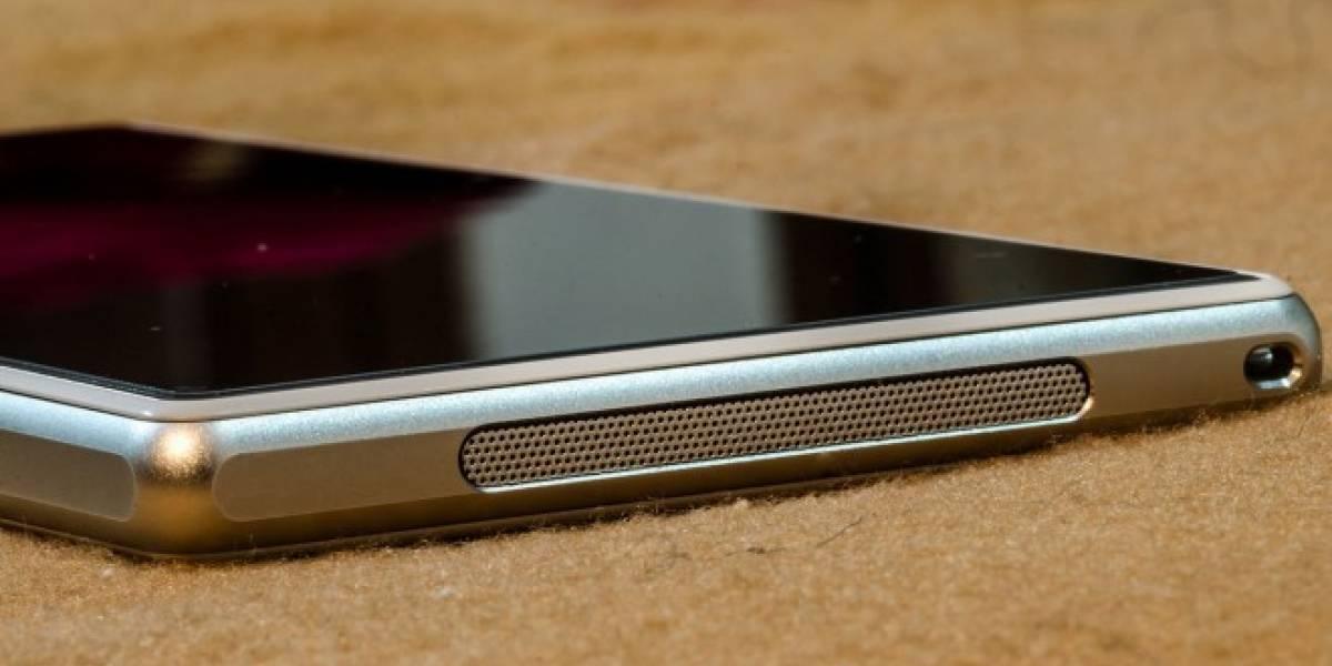 Logran que el Sony Xperia Z1 tenga altavoces estéreo