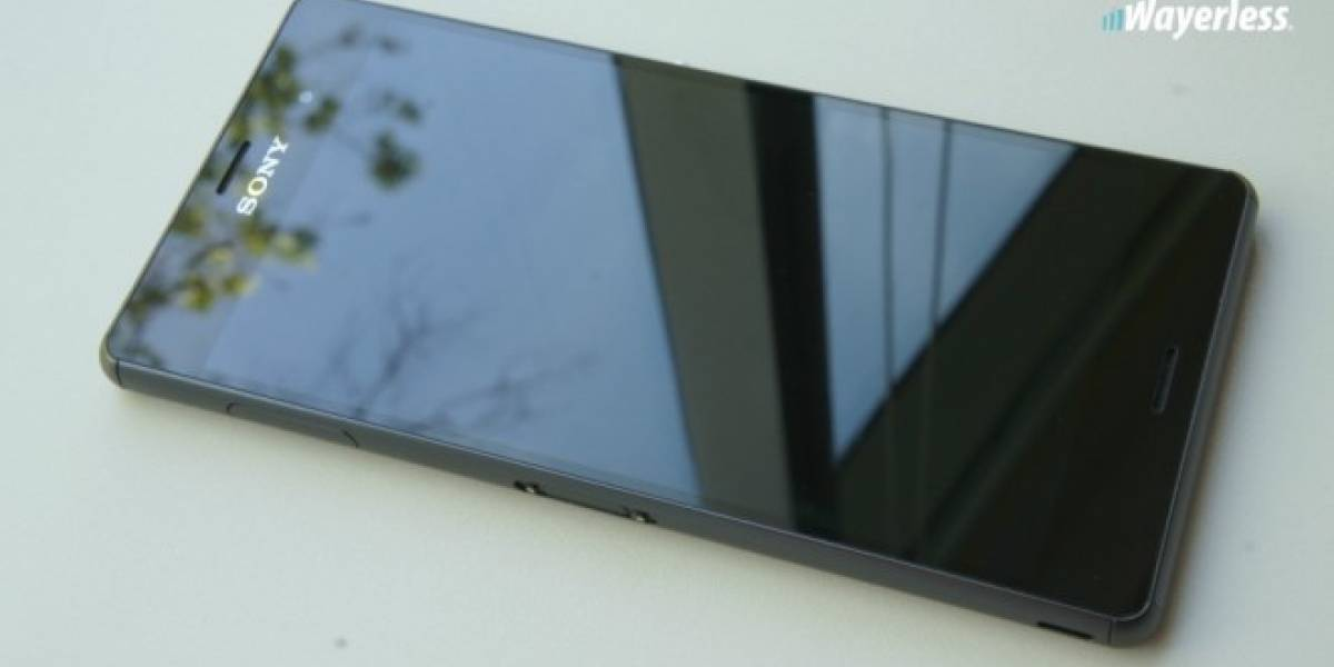 Aparecen fotografías de un panel frontal que podría ser del Sony Xperia Z4