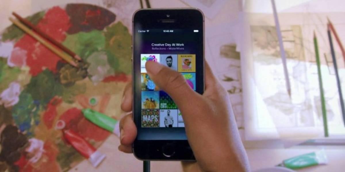 Spotify para iOS te permitirá reproducir breves extractos de canciones para así conocerlas