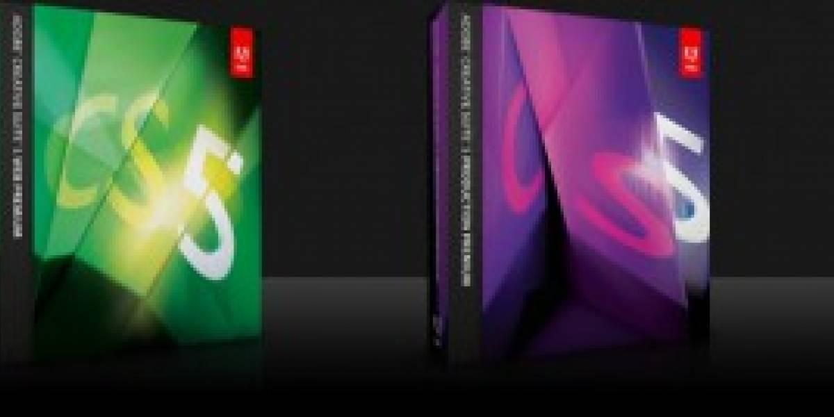 Adobe Creative Suite 5 a la venta, también en descarga