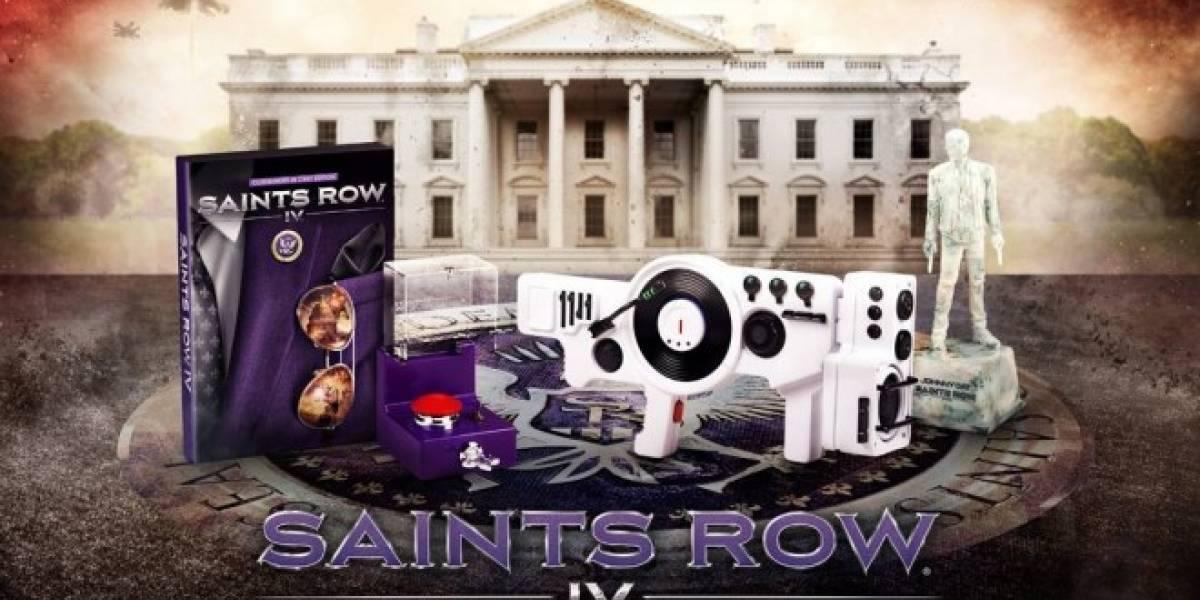 La edición coleccionista de Saints Row IV incluye una Dubstep Gun de verdad