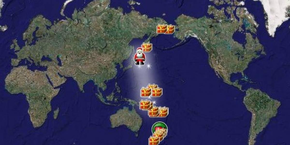 Ahora puedes seguir el viaje navideño del Viejo Pascuero con Google Maps para móviles