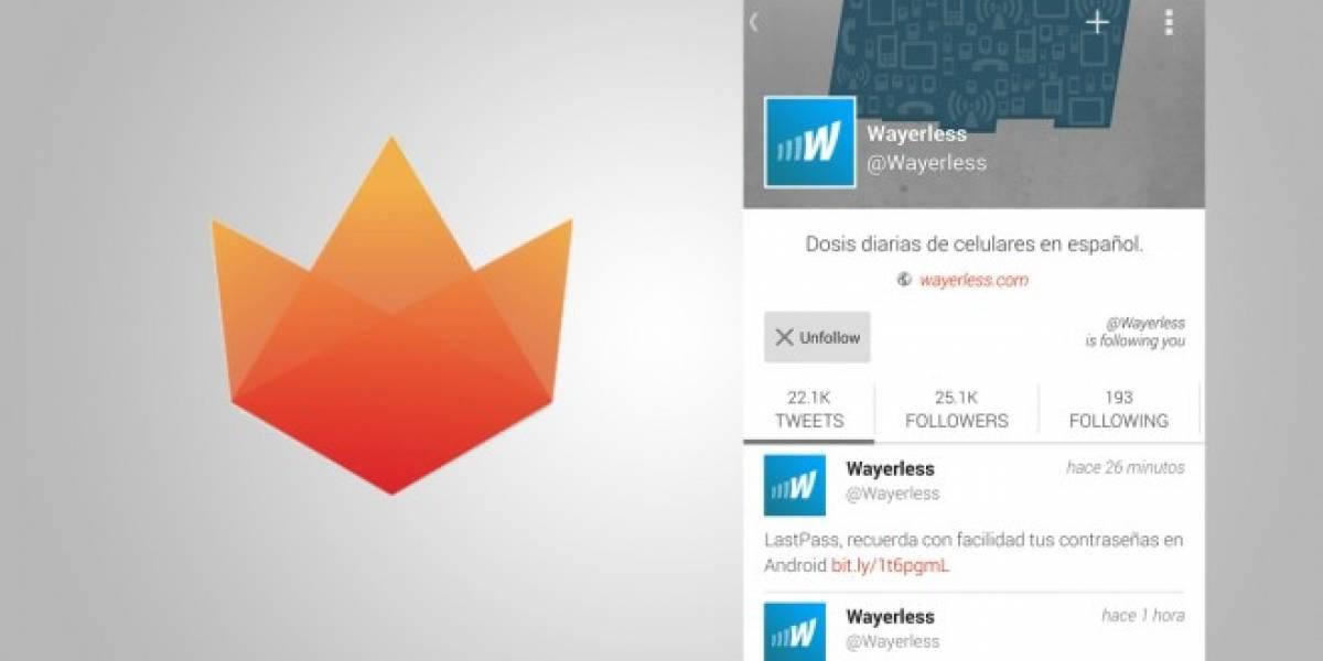 Fenix, un nuevo cliente de Twitter para Android