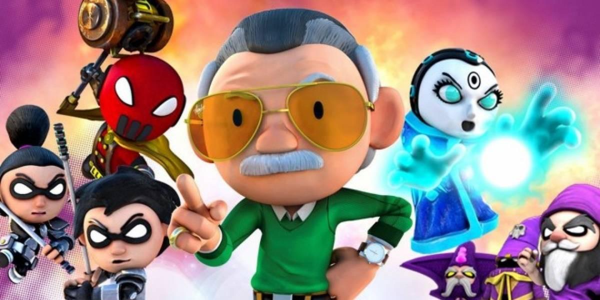 Stan Lee lanzará su primer juego para móviles