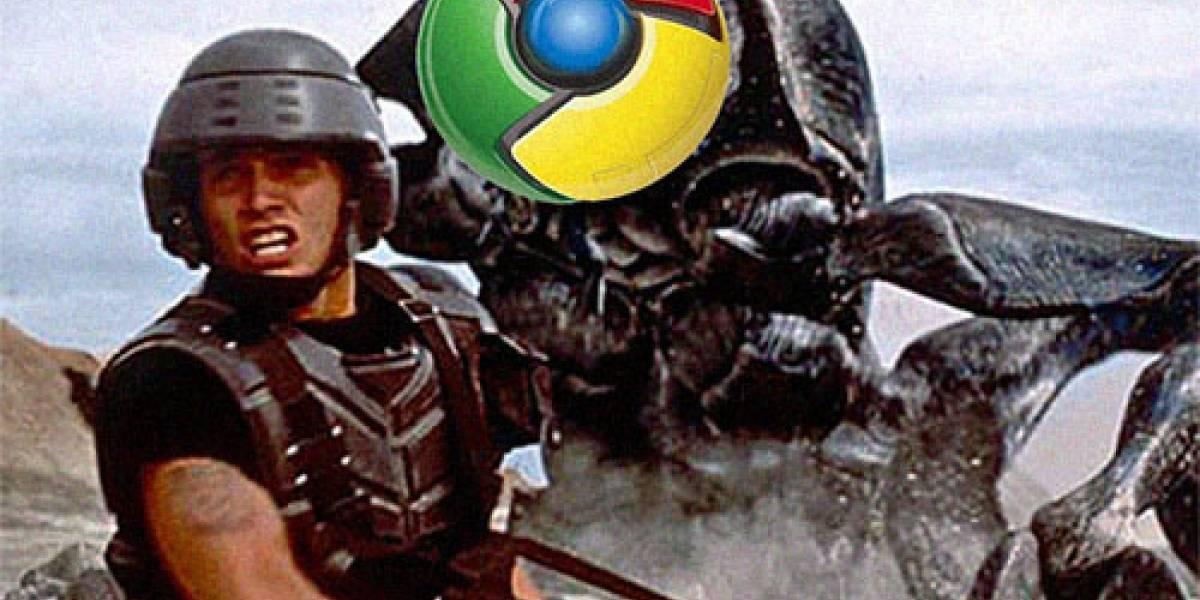 Chrome encabeza lista de aplicaciones con más problemas