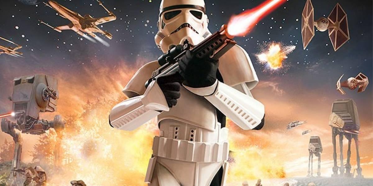 Video prueba que LucasArts estaba haciendo su propio Star Wars: Battlefront III