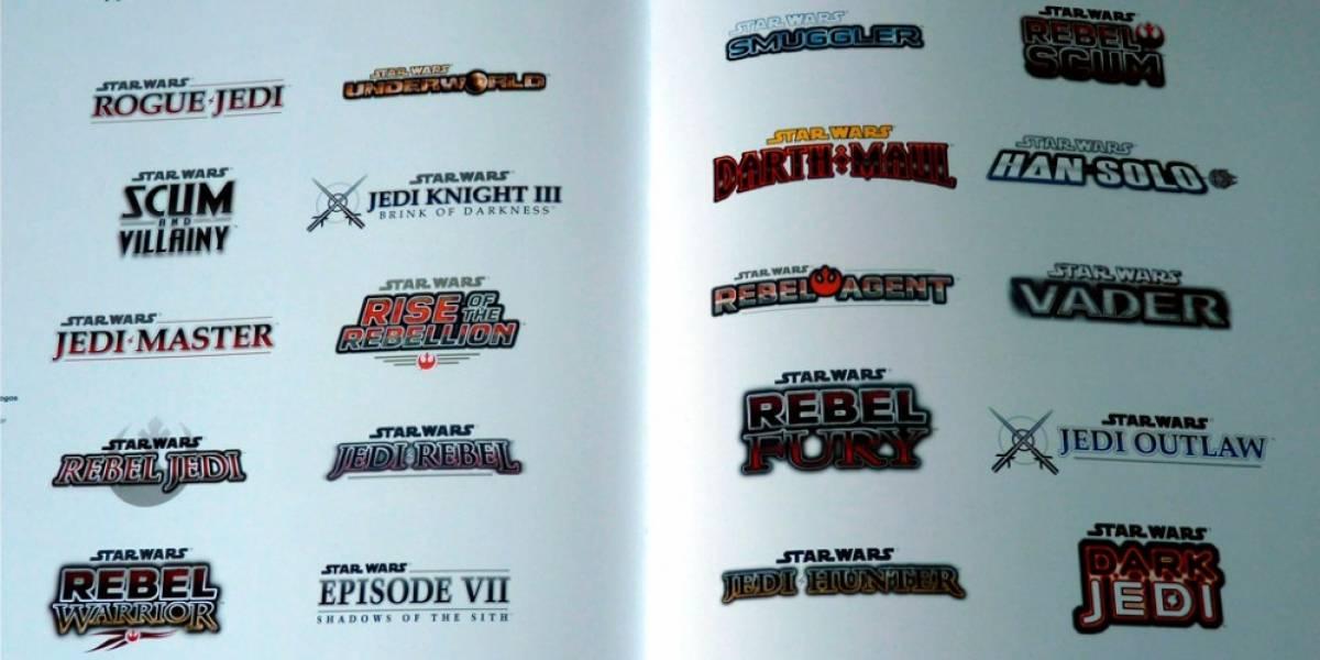 20 juegos de Star Wars en LucasArts que recibieron el hachazo
