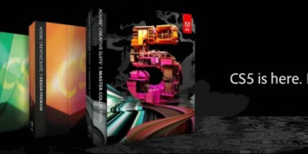 Adobe anuncia Creative Suite 5, precios y características nuevas