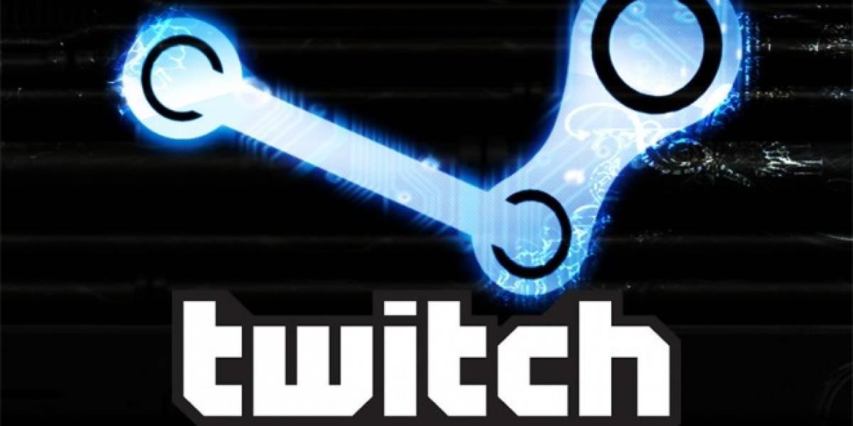 Cuentas de Steam ahora pueden ser vinculadas con Twitch