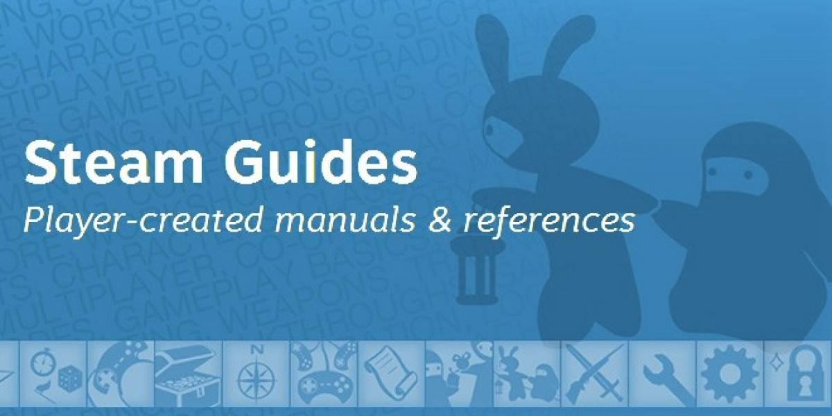 Las Guías para Steam lanzadas oficialmente para todo el público