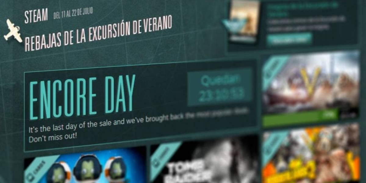 Último día en Steam para aprovechar las ofertas de verano