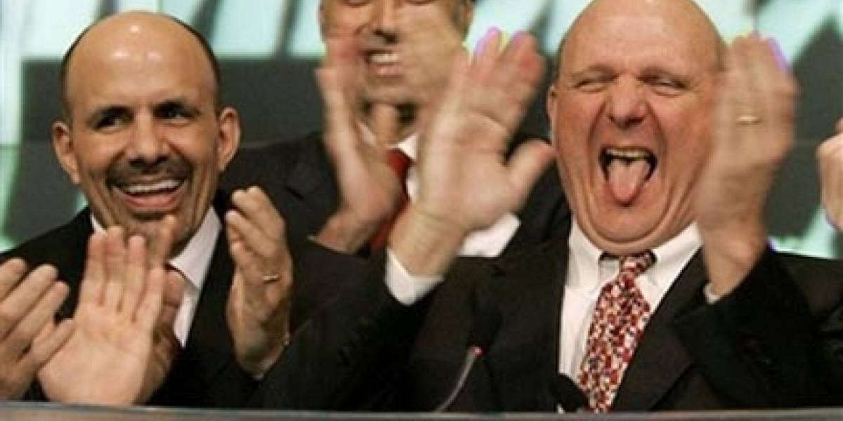 Steve Ballmer vende 70 millones de sus acciones de Microsoft
