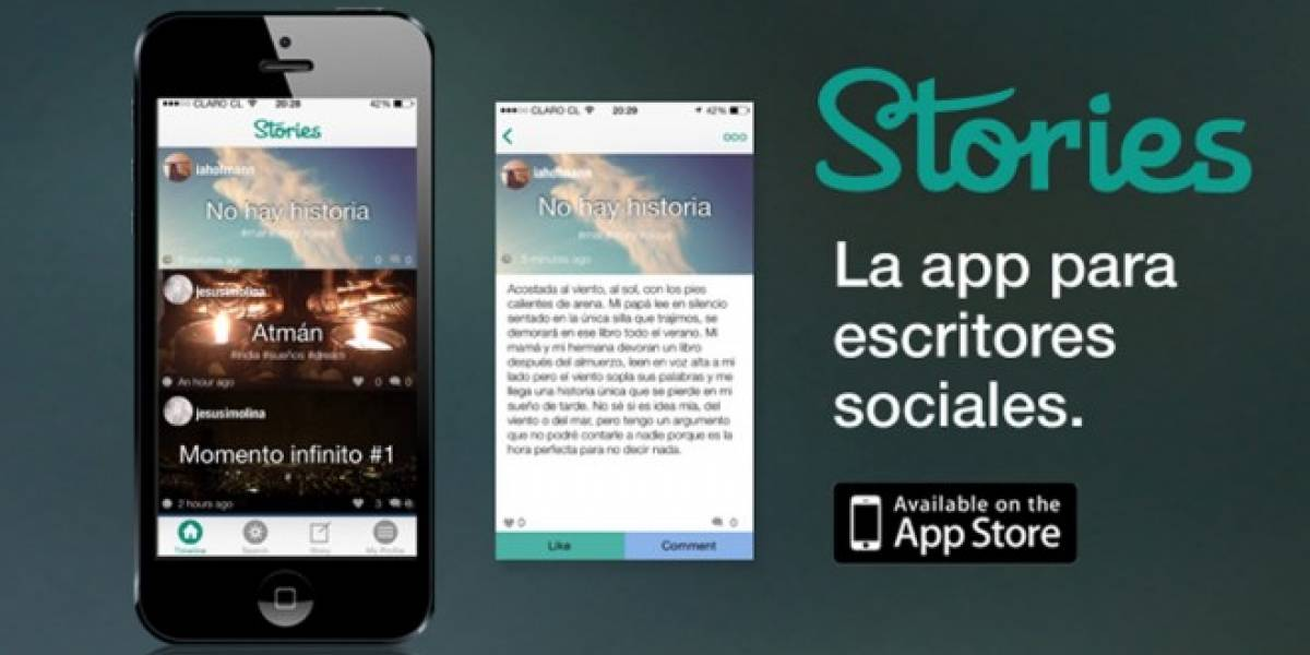 Stories, la red social chilena para compartir historias cortas