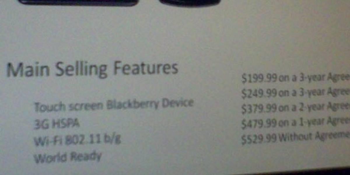 Futurología: BlackBerry Storm con WiFi